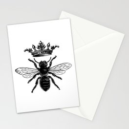 VINTAGE QUEEN BEE Stationery Cards