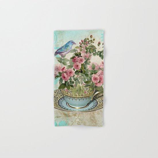 Tea Flower #1 Hand & Bath Towel