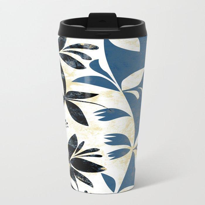 Climbing Plants Metal Travel Mug