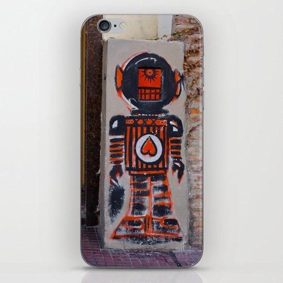 Robot iPhone & iPod Skin