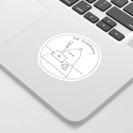 The TourBunny - Refund Sticker