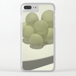 Twelve grapes - 12 uvas Clear iPhone Case
