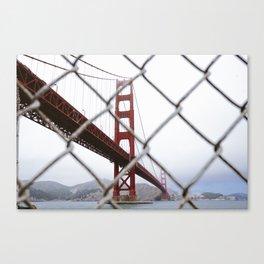 Golden Gate // Canvas Print