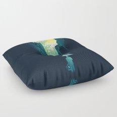 I Want My Blue Sky Floor Pillow