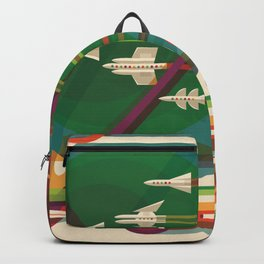 The Grand Tour : Vintage Space Poster Backpack