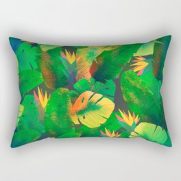 Tropical Leaves 13 Rectangular Pillow