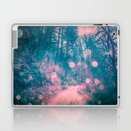 Pink Magical Path Laptop & iPad Skin