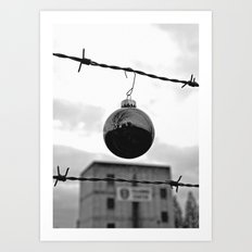 Festive security Art Print