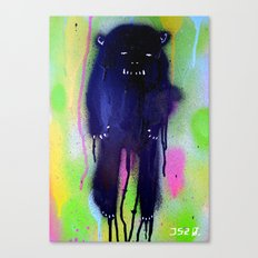 night-bear Canvas Print