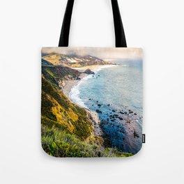 Big Sur First Light Tote Bag
