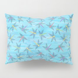 Sweet Dragonfly Skies Pillow Sham