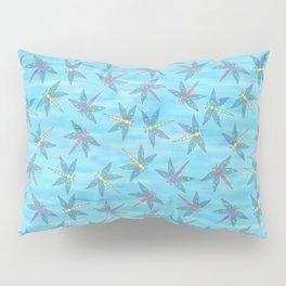 Sweet Dragonfly Skies Pillow Sham