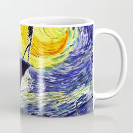 Walking to The Moon Coffee Mug