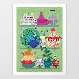 Orientl helf Art Print