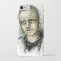 jesse pinkman iPhone & iPod Cases featuring Jesse Pinkman - Breaking Bad by Lisa Lemoine