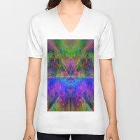 avatar V-neck T-shirts featuring Avatar by Assiyam