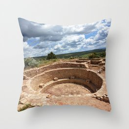 Dominguez-Escalante Ruins of the Anasazi, No. 2 of 7 Throw Pillow