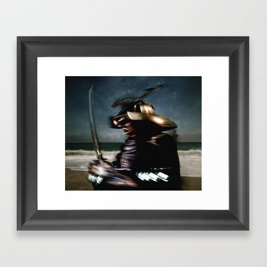 Subdivisions Framed Art Print
