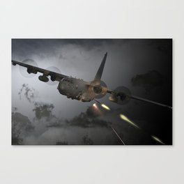 AC-130 Spooky  Gunship Canvas Print