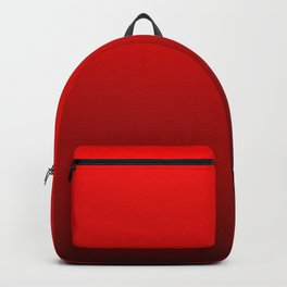 Red Devil Hell and Black Deadly Ombre Nightshade Backpack