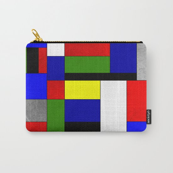 Mondrian #4 Carry-All Pouch