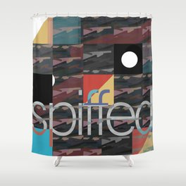 patch camo (extend) Shower Curtain