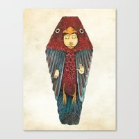 egyptian Canvas Prints featuring Fly like an egyptian by Juan Weiss