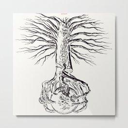 Yggdrasil, Odin's sacred tree Metal Print