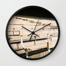Bleachers Wall Clock