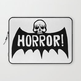 Skull Bat Horror! Laptop Sleeve