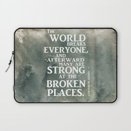 A heroic stance Laptop Sleeve