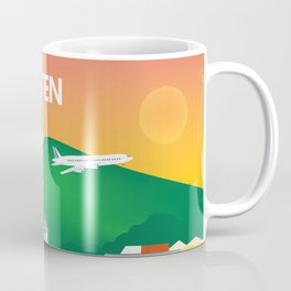 St. Maarten - Skyline Illustration by Loose Petals Coffee Mug