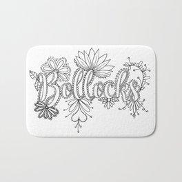 Bollocks Adult Coloring Design Bath Mat