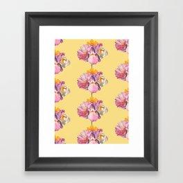 polly (pattern) Framed Art Print