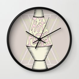 Hot Mess Wall Clock
