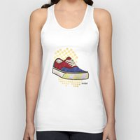vans Tank Tops featuring Man I Need Vans - Classic Sneaker Icon by Dave Conrey