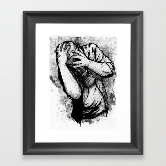 Drifting Shadows Framed Art Print