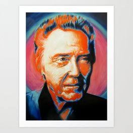 Christopher Walken-More Cowbell Art Print