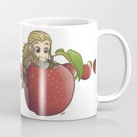 fili Mugs featuring Fili&Apple by AlyTheKitten