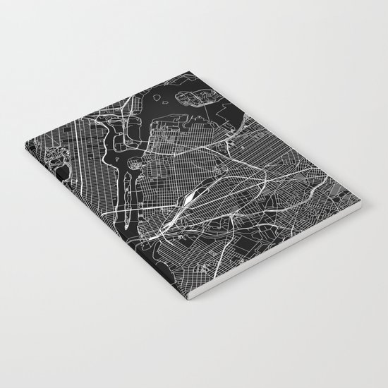 New York City Black Map by multiplicity