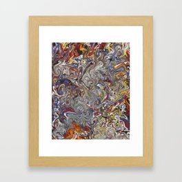 Imp Grin Framed Art Print