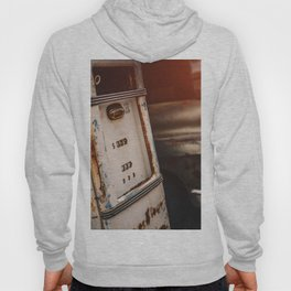 Old american abandoned gas station Hoody