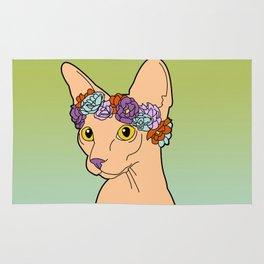 Flower Crown Sphynx Rug