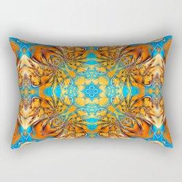 Mandala #4 Rectangular Pillow