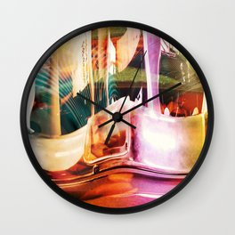 """Nature vs Industry"" Wall Clock"