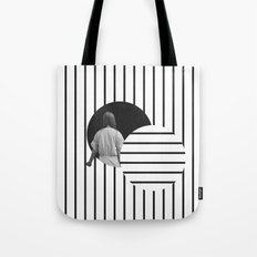 Into the Void Tote Bag