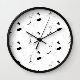 Play with Cats Wall Clock