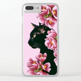 cat 7 Clear iPhone Case