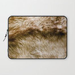 Fluffy Fur Laptop Sleeve