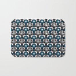 Hypnotic Blue Bath Mat